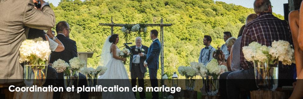 Coordination et planification de mariage