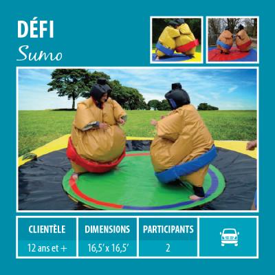 Location de Jeux gonflables - Sport gonflables - sumo