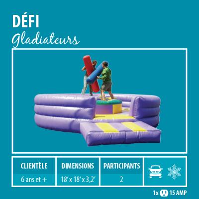 Location de Jeux gonflables - Sport gonflables - Gladiateur