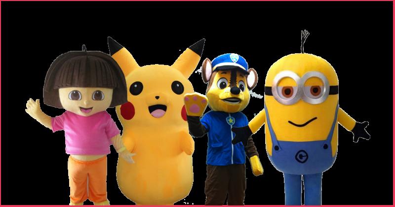 événement - maison des mascottes - animation mascottes