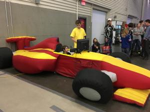 Location de Jeux de kermesse - simulateur voiture de course
