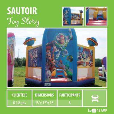 Location de Jeux gonflables - Sautoir Toy Story