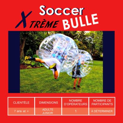 Location de Jeux gonflables - Sport gonflables - soccer bulles