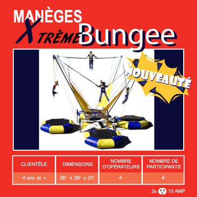 location de manèges - bungee