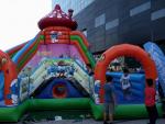 Événement levée de fonds jeux gonflables