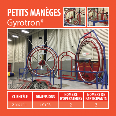 location de manèges - Gyrotron