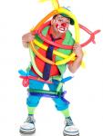 événement extérieur - clown - fête champêtre