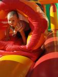 événement extérieur - jeux gonflables - fête champêtre